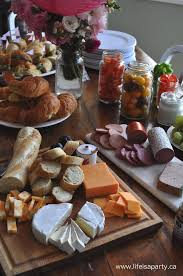 Paris Party Food -A French Themed Menu Great ideas of what to serve at your