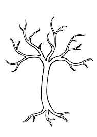 Kleurplaat Boom Coloring Bomen Tekenen Herfst Tekenen Herfst