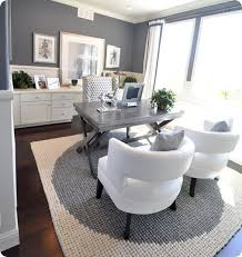 gray and white office x leg desk omg the chairs the deskthe color scheme is creative inspiration for us get more photo about home decor related with brave business office decorating ideas awesome