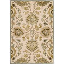 artistic weavers lauren ivory viscose and chenille 9 ft x 12 ft area rug lrn5600 8812 the home depot
