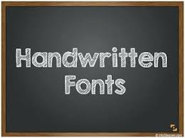 chalkboard fonts free handwriting font generator free free chalkboard font for