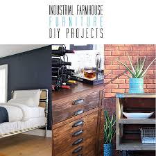 Industrial diy furniture Living Room The Cottage Market Industrial Farmhouse Furniture Diy Projects The Cottage Market