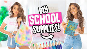 diy back to school supplies 2018