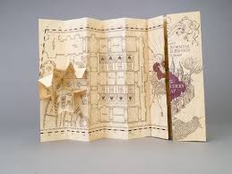 marauder's map  pottermore