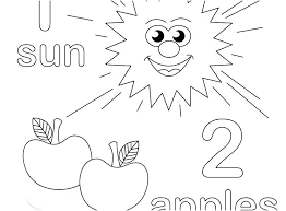 number coloring pages for preschoolers. Simple Preschoolers Number One Coloring Page Pages Free  Printable 1 For Number Coloring Pages Preschoolers U