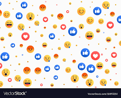 emoji background. Simple Emoji Intended Emoji Background VectorStock