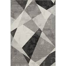 geometric rug grey 02 hover to zoom