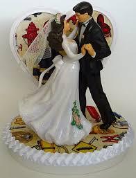 Wedding Cake Topper Fire Department Firefighter Fireman Themed