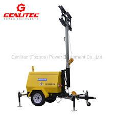 Portable Light Generator Hot Item 5kva Diesel Portable Lighting Tower Generator With 4x300w Led Floodlights