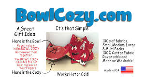 Bowl Cozy Pattern Custom Microwavable Bowl Cozy YouTube