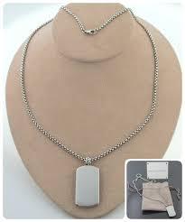 pietersite necklace dog tag