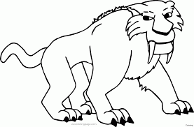 Ice Age Coloring Pages Babbleeditioninfo