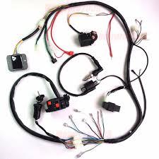 cc cc atv quad full electrics cdi coil rectifier wiring 250cc 200cc atv quad full electrics cdi coil rectifier wiring harness wire loom