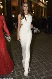elizabeth hurley 2016. glamour: elizabeth hurley opted for maximum wow-factor when she stepped out in rome 2016 i