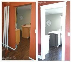 ... Interior Entry Door Molding Ideas Door Casing Design Ideas Pictures  Burlap Tin New Doorways Say Hello ...