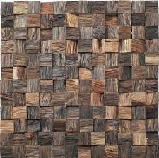 decorative wood wall tiles. 3D Effect Wood Mosaic Tile, Interior Tile ,high Quality Solid Wall  Panel Decorative Tiles