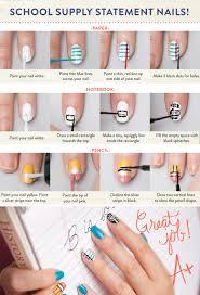 Nail Klub: Back to School Nail Art -