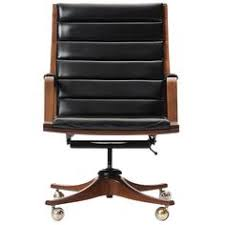 modern executive office chairs. Brilliant Office Executive Desk Chair By Edward Wormley USA A Bent Laminate Walnut Armchair  With Channeled Black Leather On Casters For Modern Executive Office Chairs