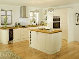 kitchen white wooden kitchen island with brown wooden counter top plus white wooden cabinet with