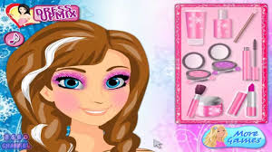 anna frozen makeup frozen anna makeup tutorial game