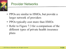 provider networks ppos are similar to hmos but provide a larger network of providers