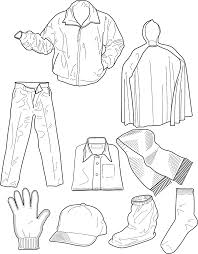 Small Picture Winter Clothing Colouring Pages In The Playroom