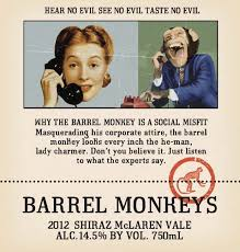 Barrel of monkeys by redhead