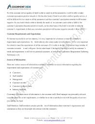 customer service in hospitality management assignment sample reliability 7
