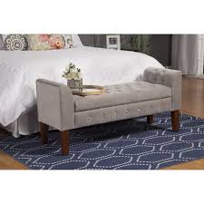 Long Bedroom Bench Bedroom Benches You39ll Love Wayfair With Bedroom Decoration For