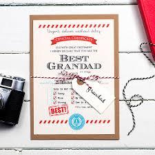 personalised gift for grandad
