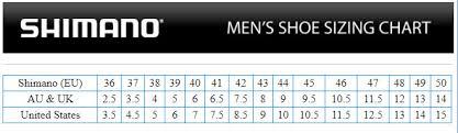 Shimano Shoe Size Chart Details About Shimano Ct500 Spd Bike Shoes Navy