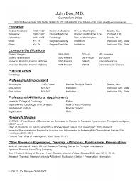 How To Write Resume For Doctor Job Doctors Format Toreto Co A Best