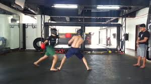 takeover mma boxing gym sparring session