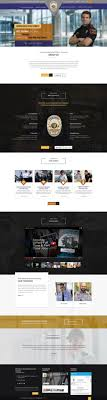 Web Design Office Fascinating Conservative Modern Security Web Design For Public Safety