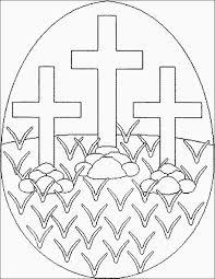 Kleurplaat Pasen Christelijk Peuters