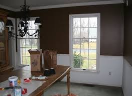 dining room painting ideasDining Room Paint Colors With Chair Rail Home Design Ideas