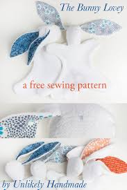 Free Bunny Pattern Template Magnificent Decoration