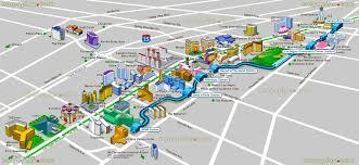 vegas hotels map and las  roundtripticketme