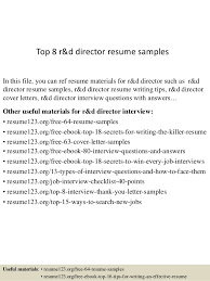 Ceo Resume Samples Simple Top 48 Rd Director Resume Samples