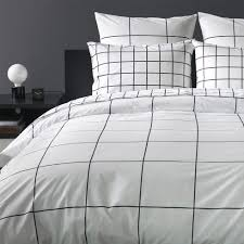 grid black duvet cover twin share your style or the look unisonhome upload