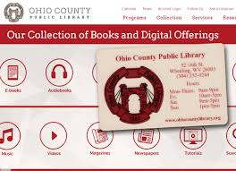 Use your library card to access dozens of online resources and take online classes. News Temporary Library Cards For Online Library Services Now Being Offered Ohio County Library Ohio County Public Library Wheeling West Virginia Ohio County Wv Wheeling Wv History