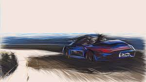 Unique within the carrera family, the 911 carrera gts combines the 44 millimeter wider carrera 4 body of the awd models, including a wider rear. Porsche 911 Carrera 4 Gts Cabriolet Draw Digital Art By Carstoon Concept