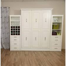 cool murphy bed designs. Simple Gabriella Queen Murphy Bed With Storagewine Cabinet White Cool Beds. Designs