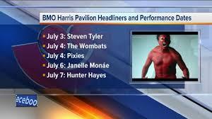 Summerfest 2018 Seating Chart Summerfest Announces 2018 Bmo Harris Pavilion Headliners