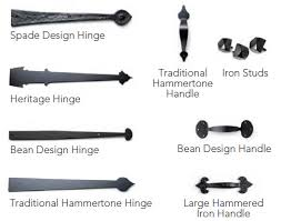Garage Door Decorative Accessories Install decorative hingeshandles hardware at Garage Doors 29