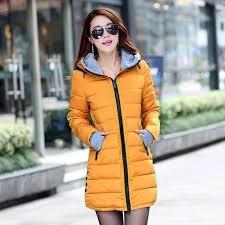 winter jacket women down cotton coat slim fit parkas las padded plus size winter jackets