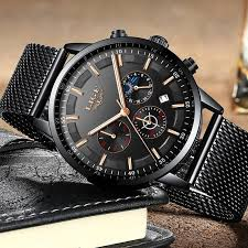 Relogio <b>LIGE Mens Watches</b> Top Brand Luxury Casual Quartz ...