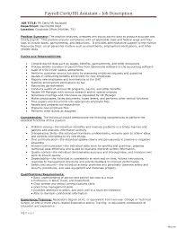 Stocker Job Description For Resume Payroll Officer Sample Resume Fresh Awesome Technician Of Clerk 90