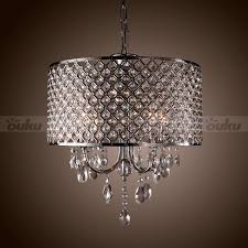 modern drum chandeliers drum chandelier crystal 4 lights modern ceiling lighting