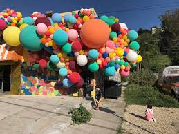 massive work cool colors. Geronimo Fills Lincoln Center With A Massive Balloon Installation For The New York City Ballet Work Cool Colors S